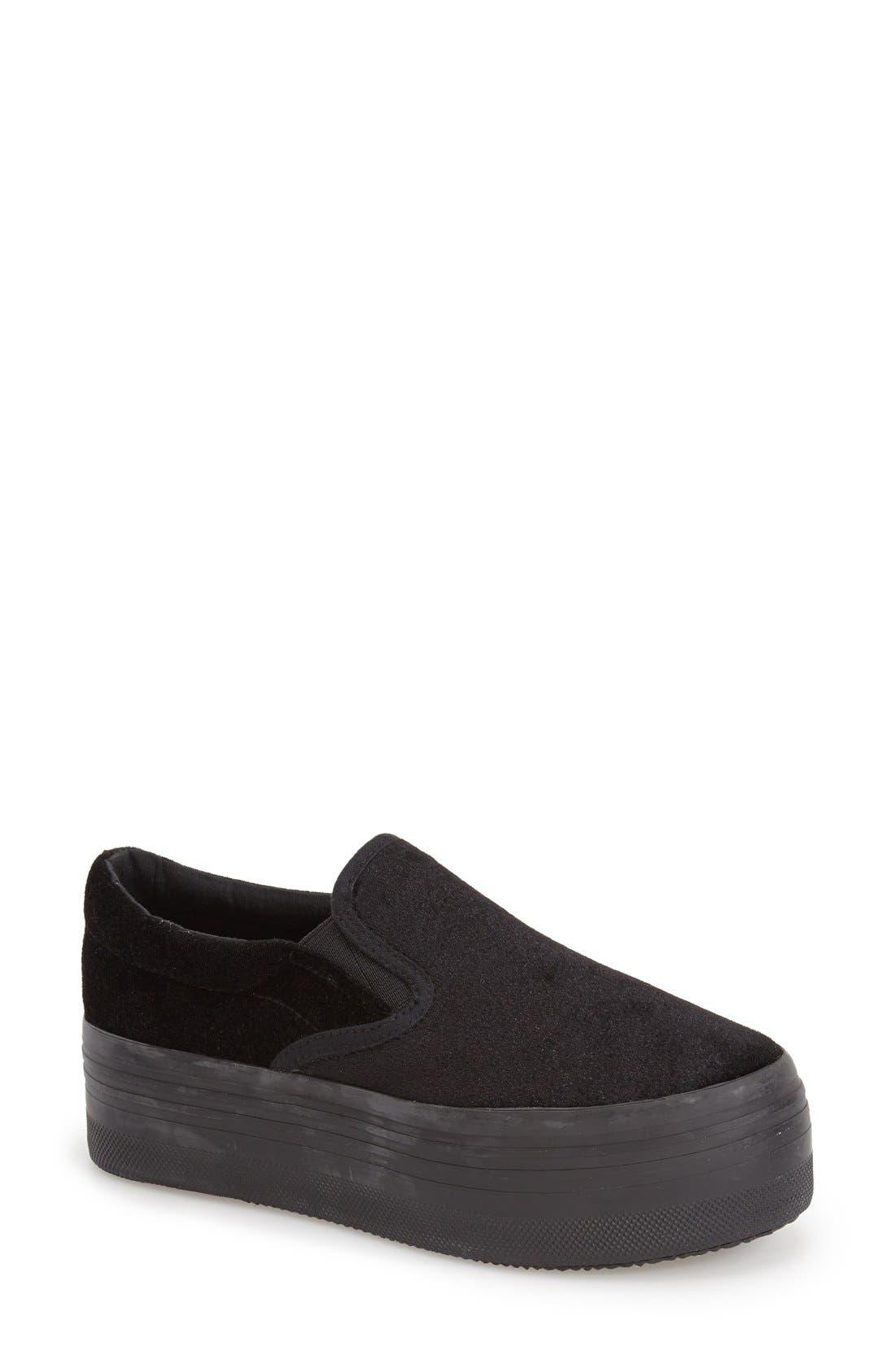 Main Image - Jeffrey Campbell 'See-Ya' Slip-On Platform Sneaker (Women)