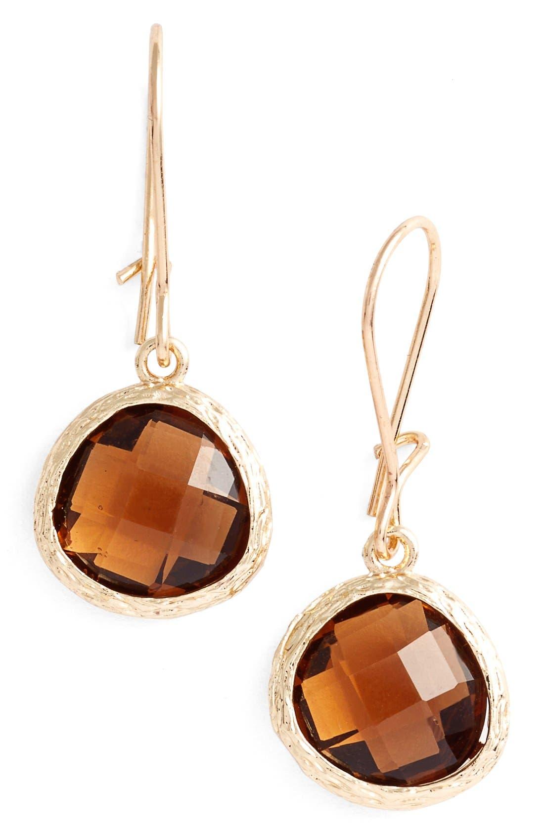 Alternate Image 1 Selected - Nordstrom Round Drop Earrings