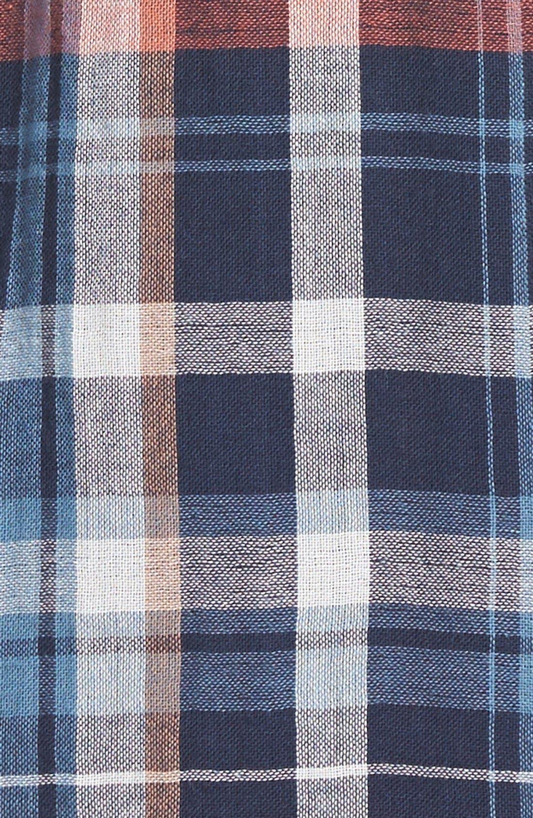 Alternate Image 3  - Velvet by Graham & Spencer Plaid Shirtdress