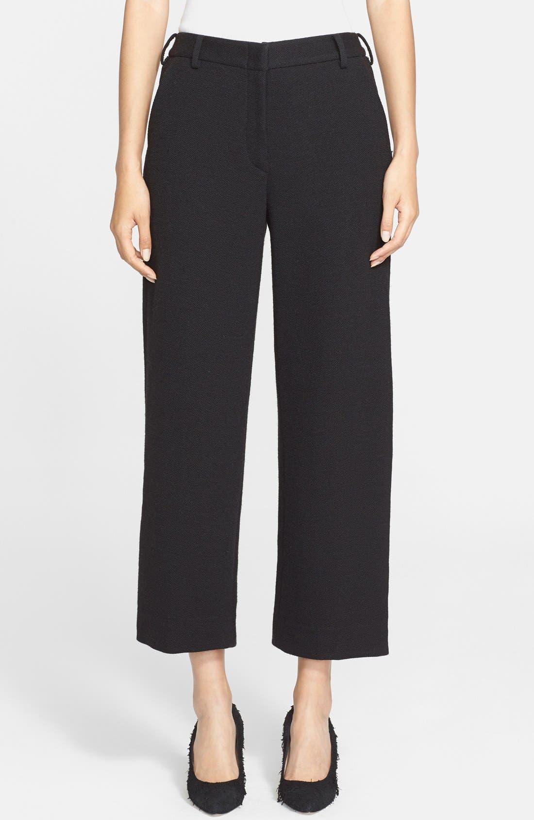 Alternate Image 1 Selected - Helmut Lang Crop Wool Pants