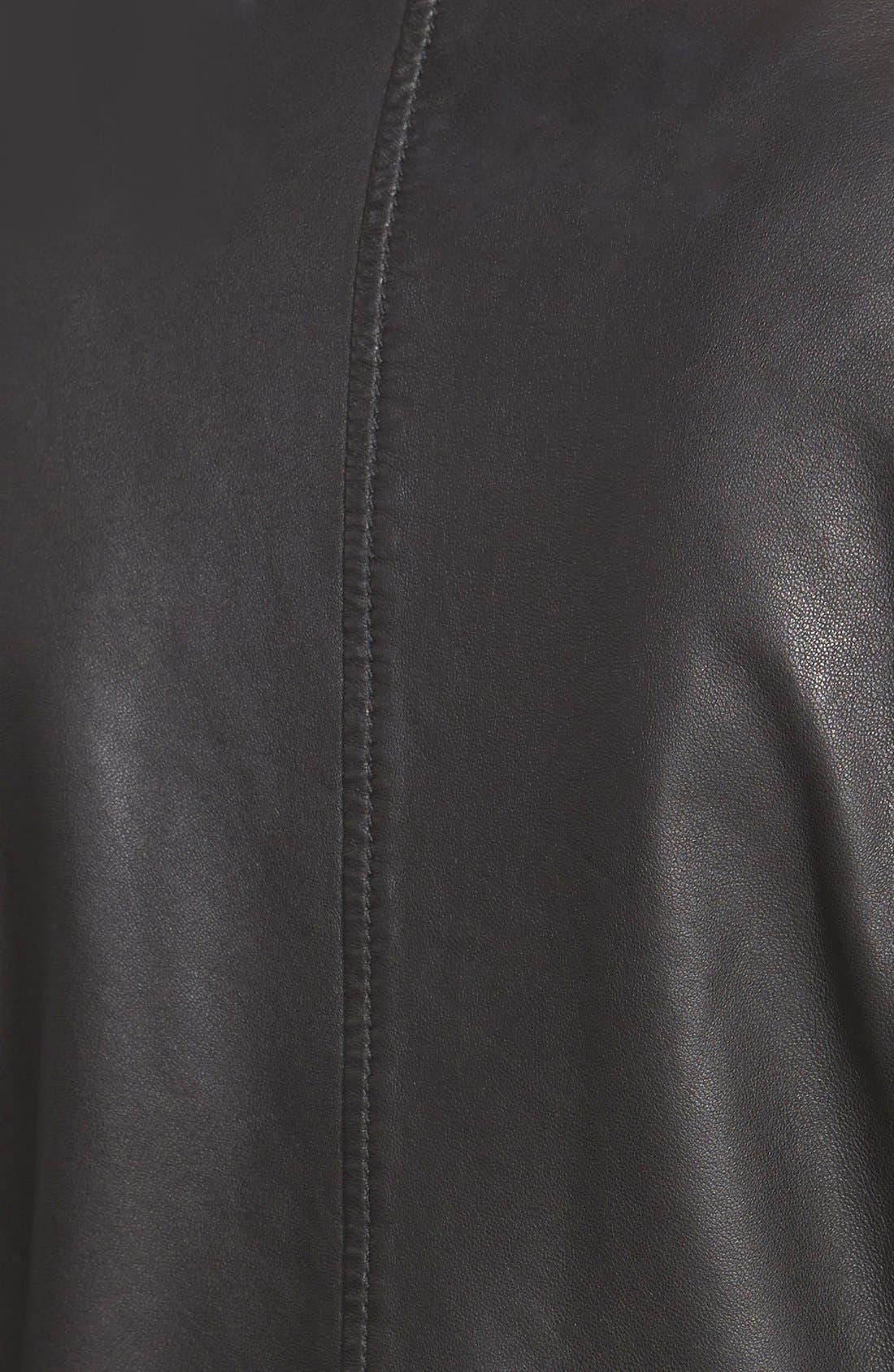 Alternate Image 3  - Treasure&Bond Leather MotoJacket