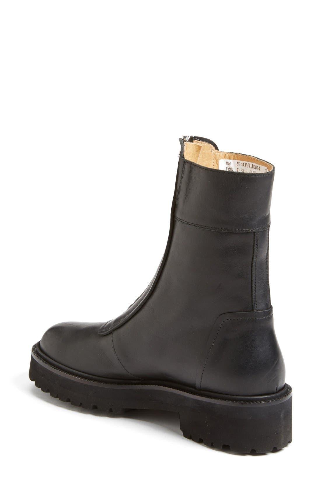 Alternate Image 2  - MM6 Maison Margiela Zip Chelsea Boot (Women)