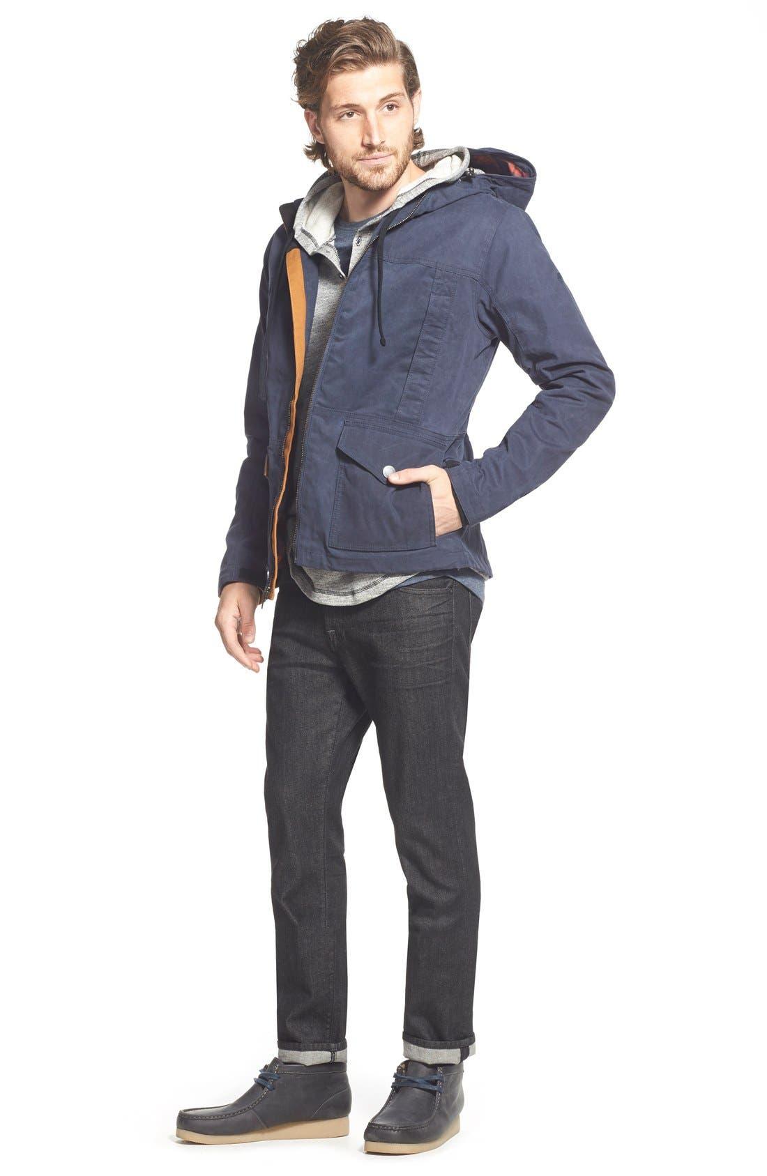 Alternate Image 5  - Timberland 'Mount Davis' Waxed Cotton Hooded Jacket