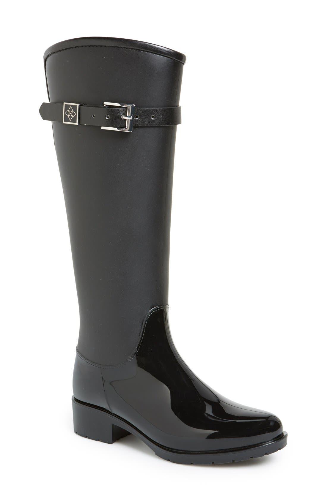 Alternate Image 1 Selected - däv 'Lisbon' Weatherproof Knee High Rain Boot (Women)
