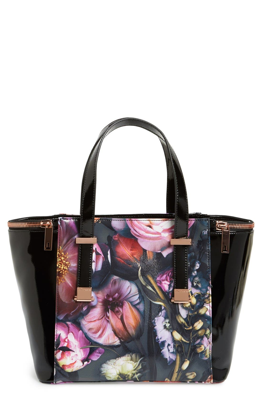 Alternate Image 1 Selected - Ted Baker London 'Shadow Flora' Tote