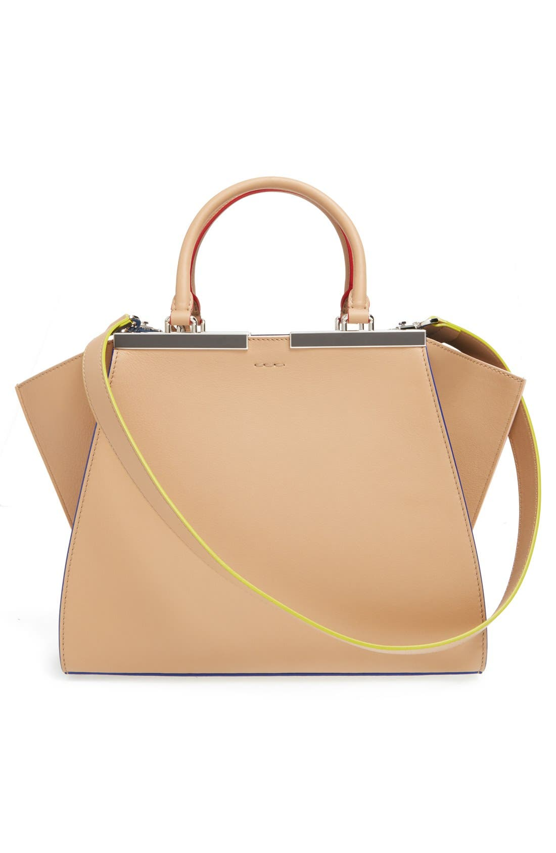 Alternate Image 3  - Fendi '3Jours' Leather Shopper