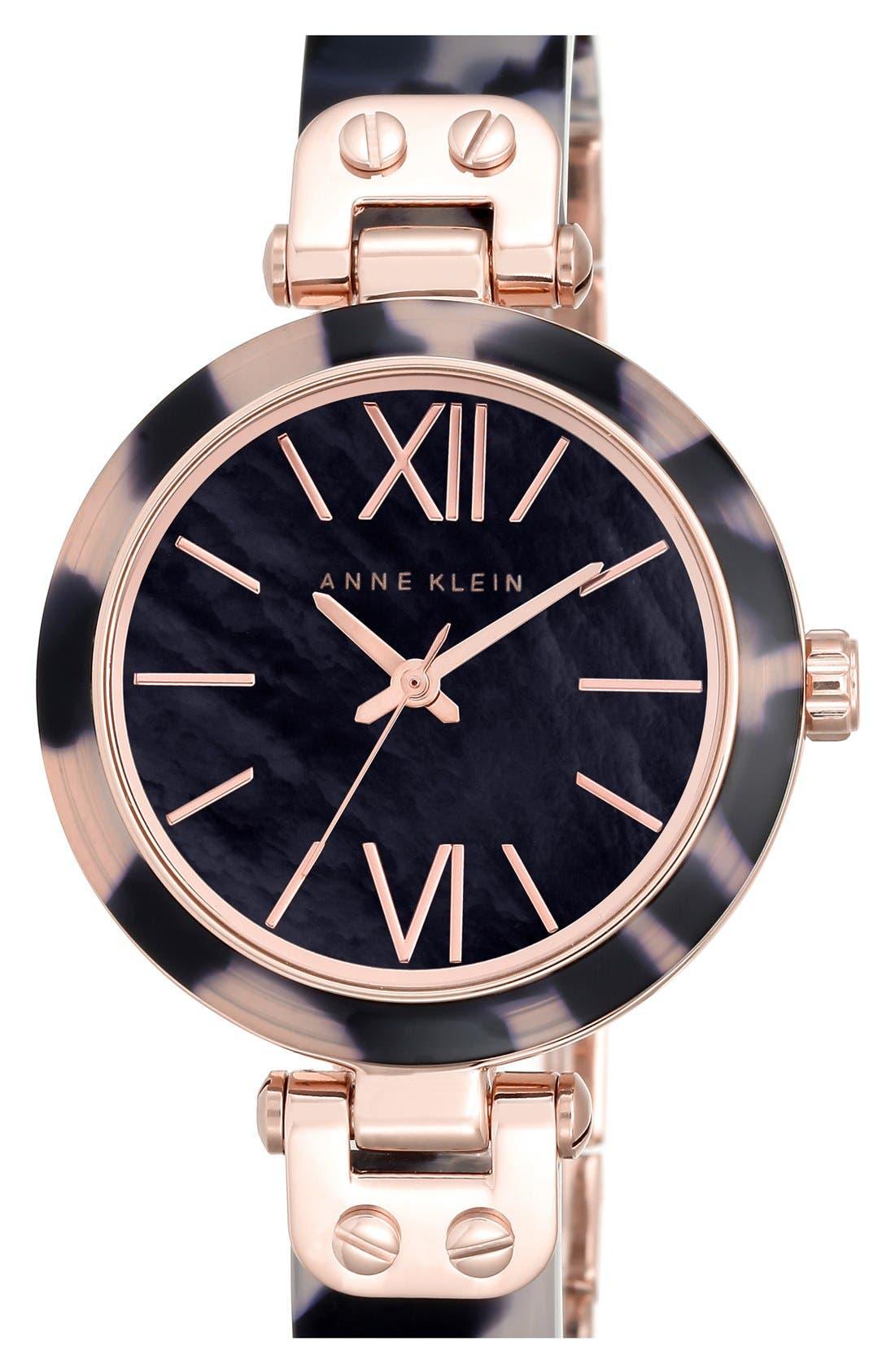 Main Image - Anne Klein Bangle Watch, 34mm