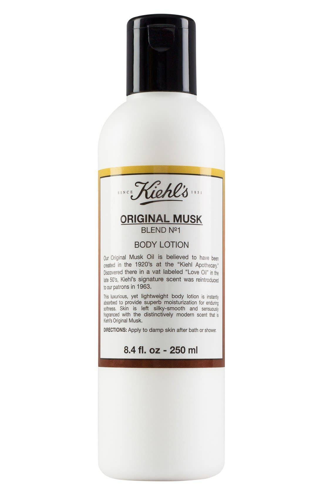 Kiehl's Since 1851 Original Musk Body Lotion