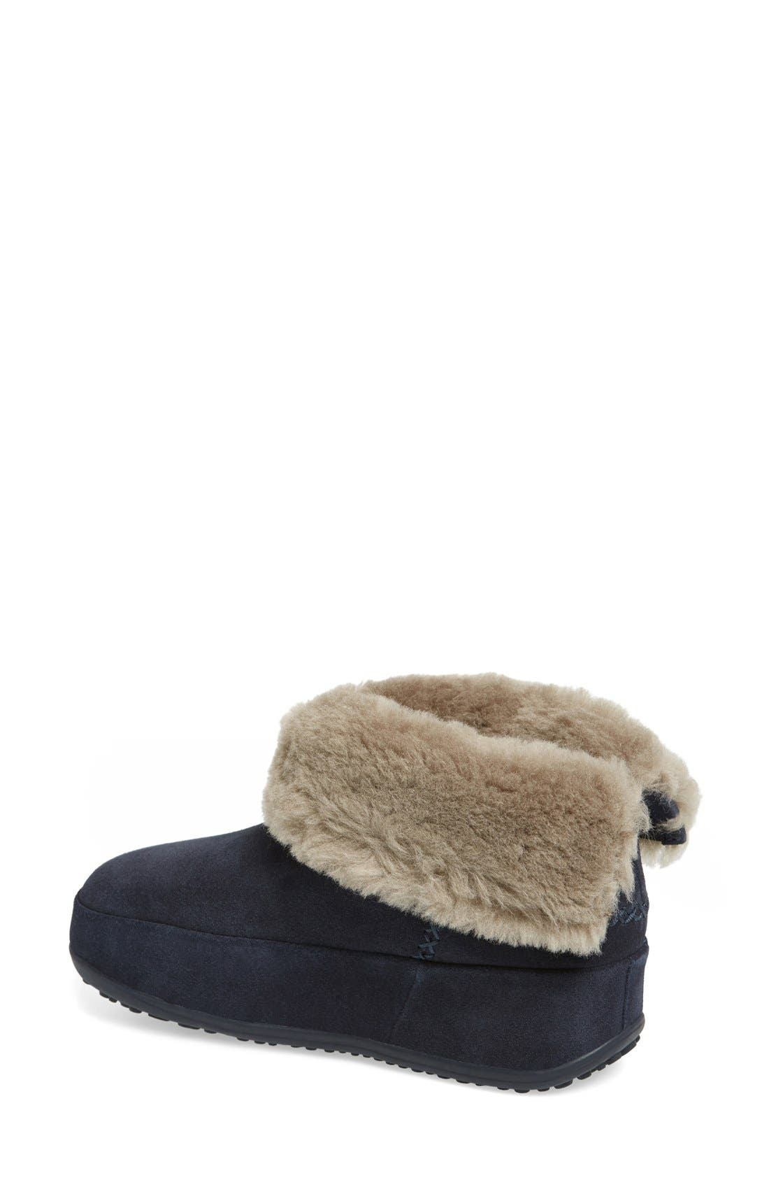 Alternate Image 2  - FitFlop™ 'Shorty' Shearling Lined Boot (Women)
