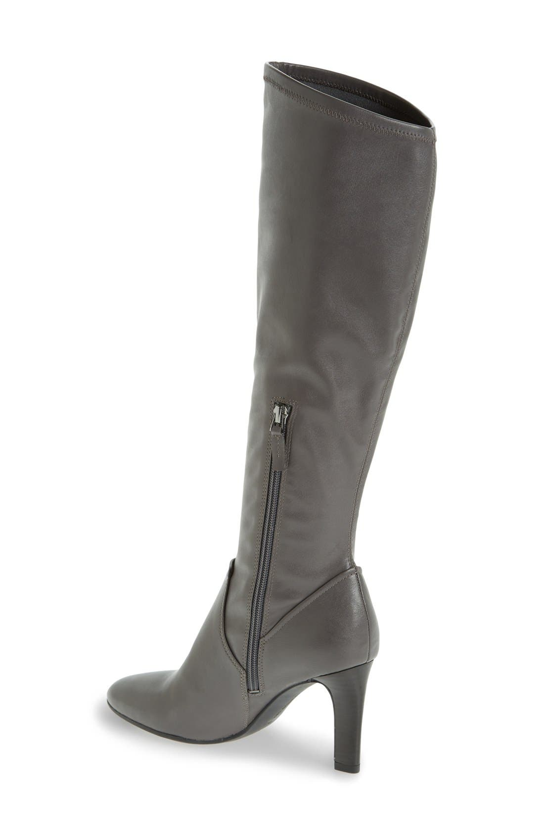 Alternate Image 2  - Franco Sarto 'Stampeed' Stretch Tall Boot (Women)