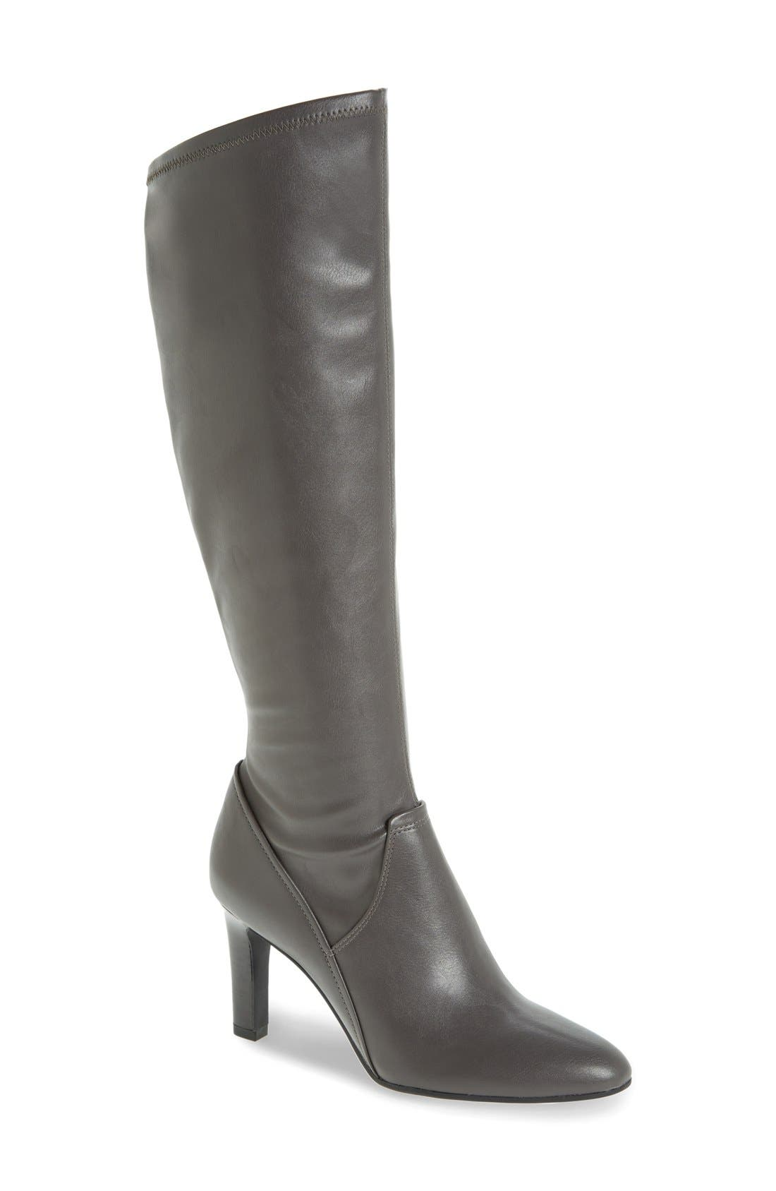Alternate Image 1 Selected - Franco Sarto 'Stampeed' Stretch Tall Boot (Women)