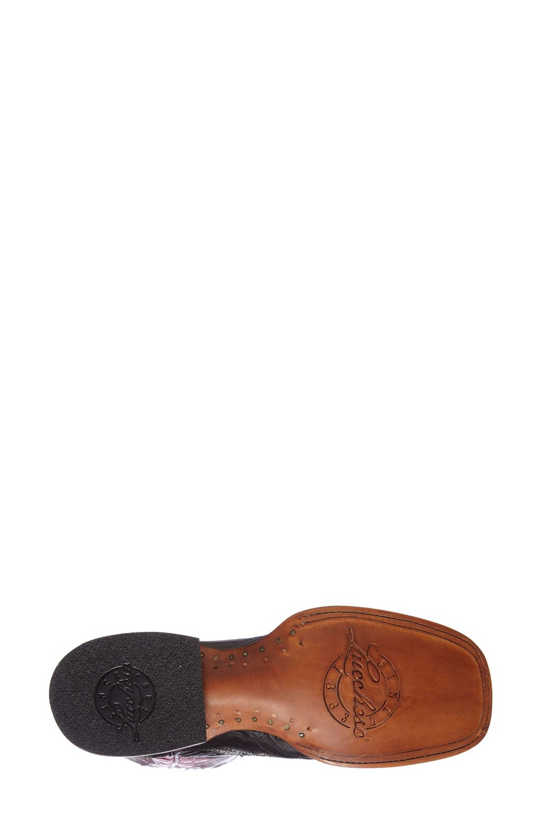 Alternate Image 4  - Lucchese 'Amberlyn' Western Boot (Women)