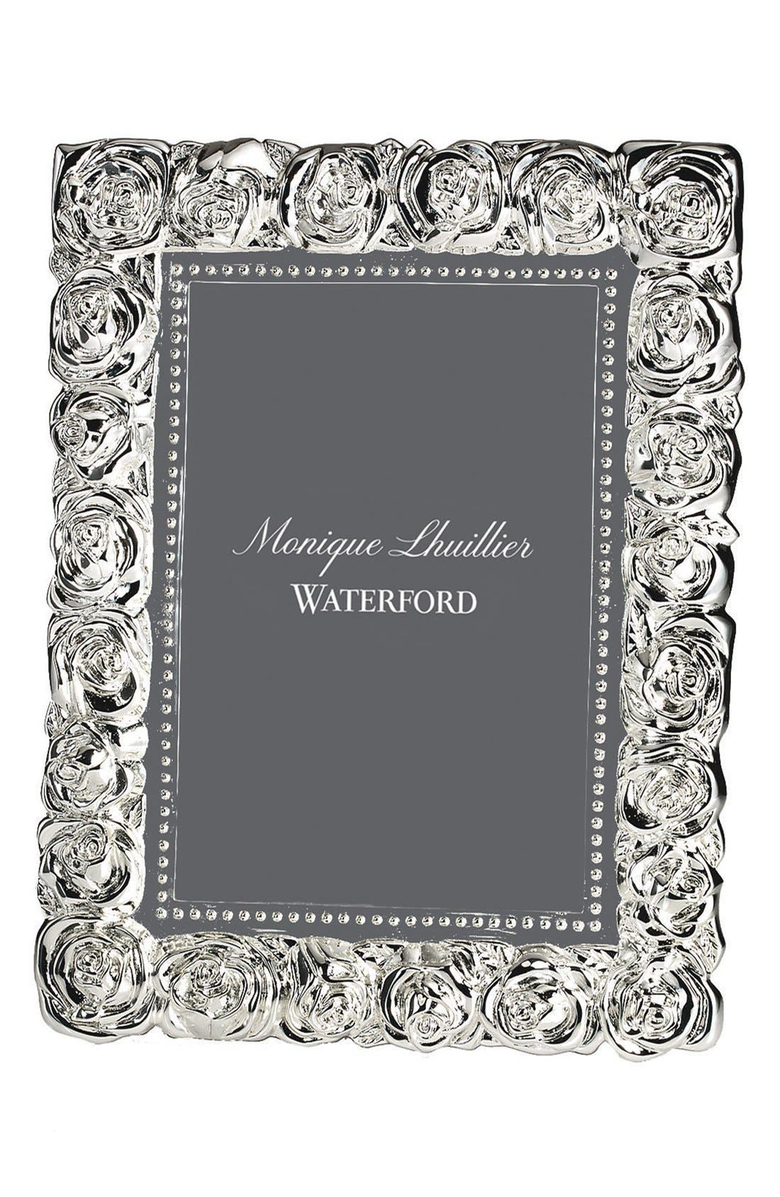 Monique Lhuillier Waterford Sunday Rose Picture Frame