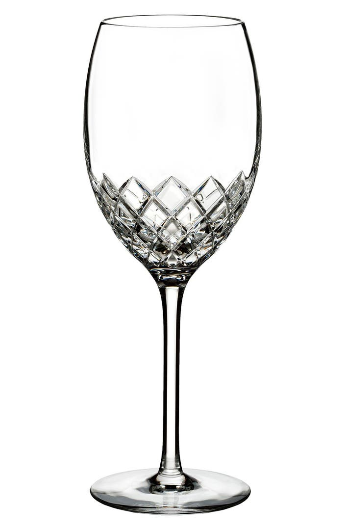 Monique lhuillier waterford 39 monique cherish 39 lead crystal wine glass nordstrom - Waterford colored wine glasses ...