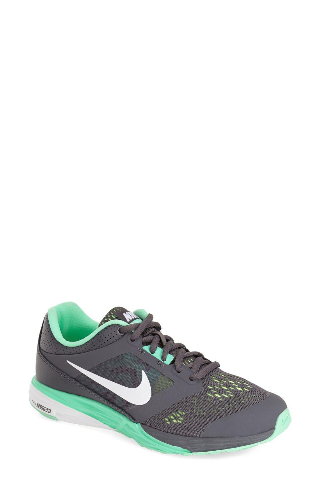 Alternate Image 1 Selected - Nike 'TriFusion' Running Shoe (Women)