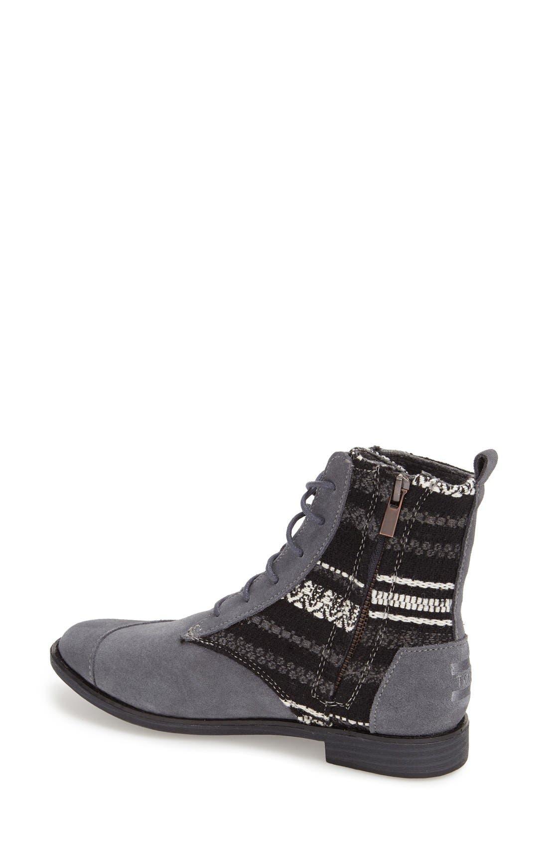 Alternate Image 2  - TOMS 'Alpa'Water Resistant Suede Boot (Women)