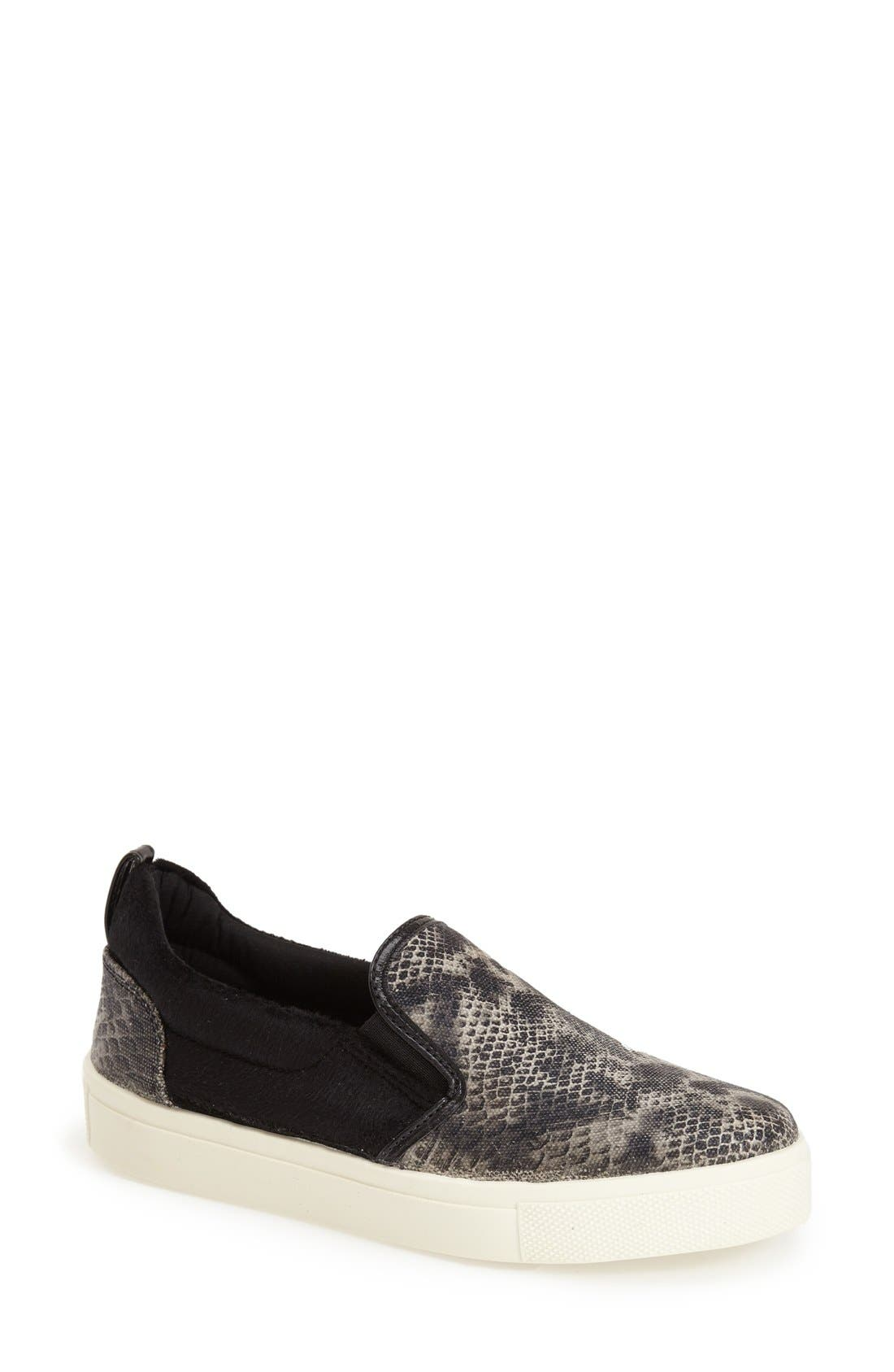 Alternate Image 1 Selected - Topshop Print Slip-On (Women)