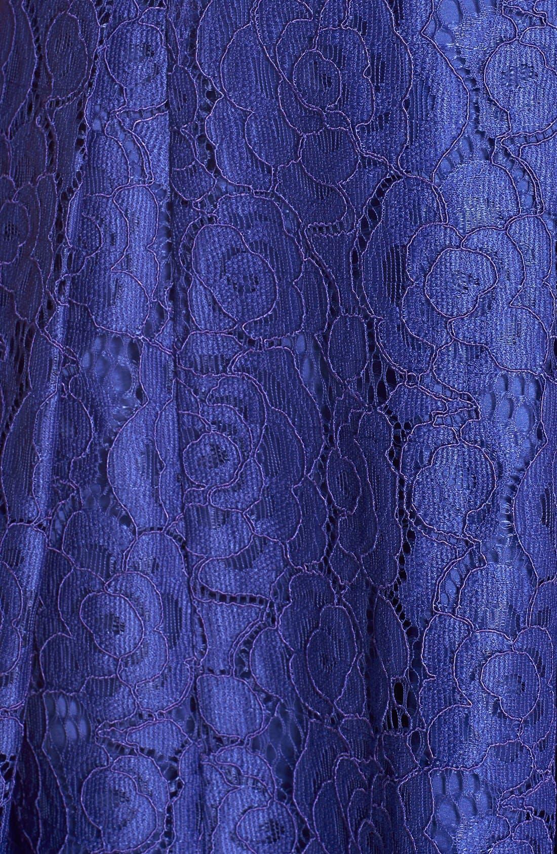 Alternate Image 6  - Adrianna PapellEmbellished Lace Fit & Flare Dress