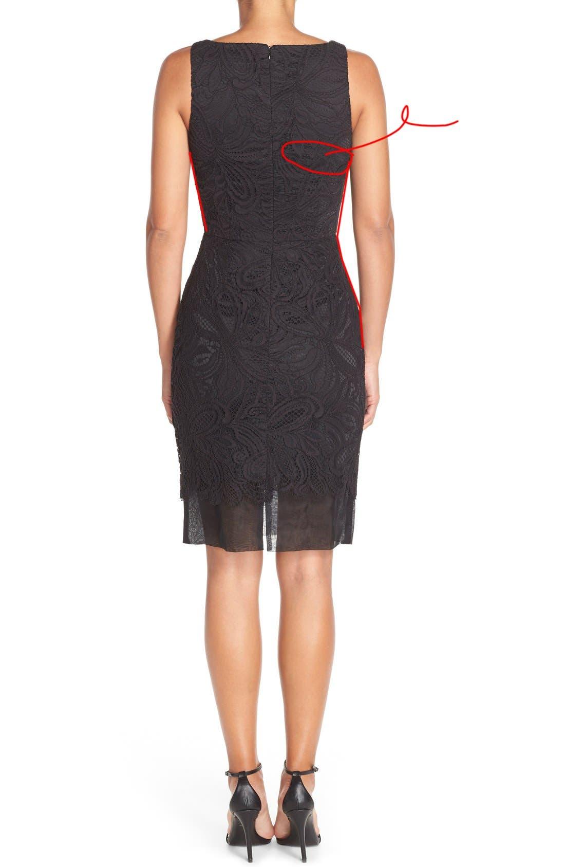 Alternate Image 5  - Trina Turk 'Agni' Lace Sheath Dress