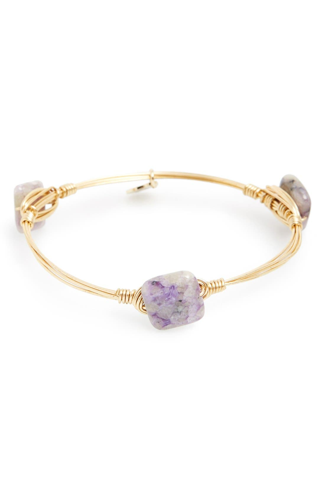 Alternate Image 1 Selected - Bourbon and Boweties Extra Small Stone Bracelet