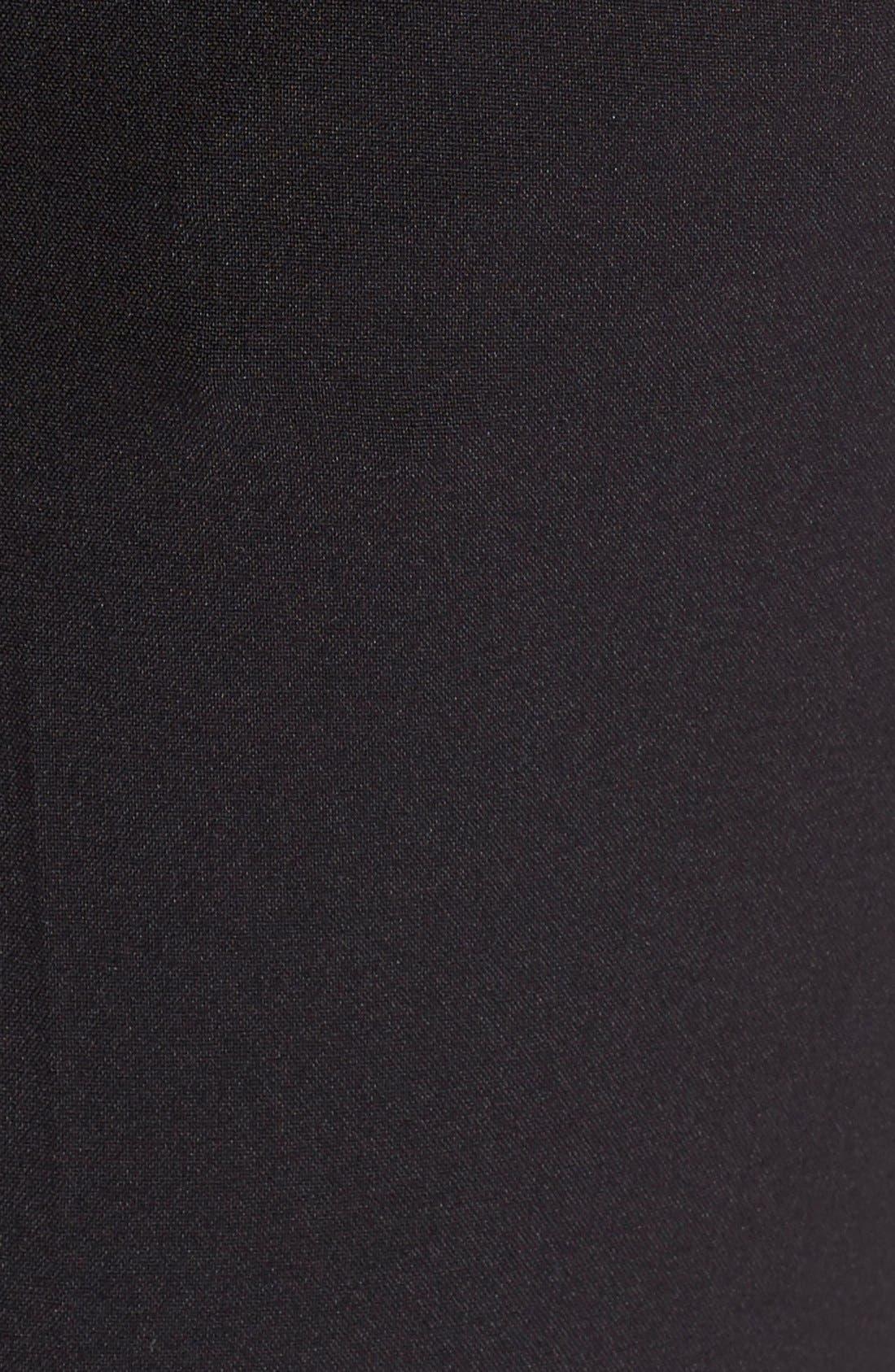Alternate Image 5  - DKNYC Faux Suede & Ponte Leggings