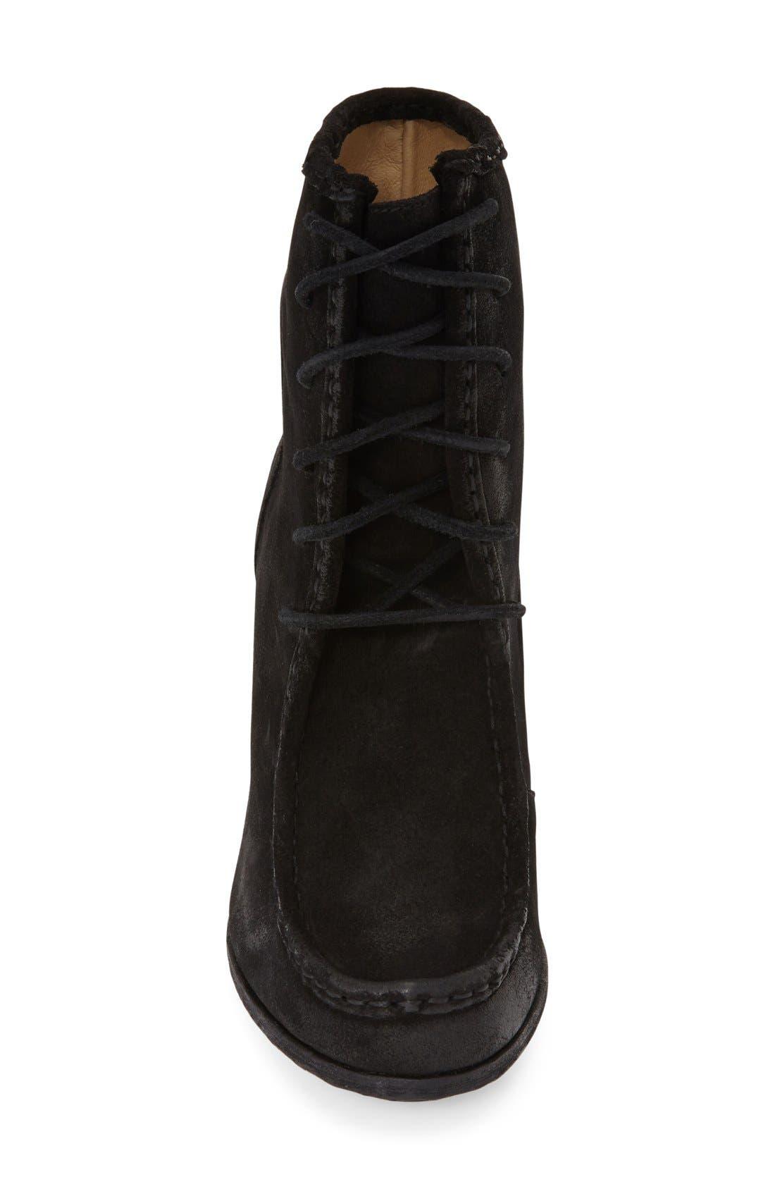 Alternate Image 3  - Frye 'Parker' Suede Moc Toe Ankle Boot (Women)