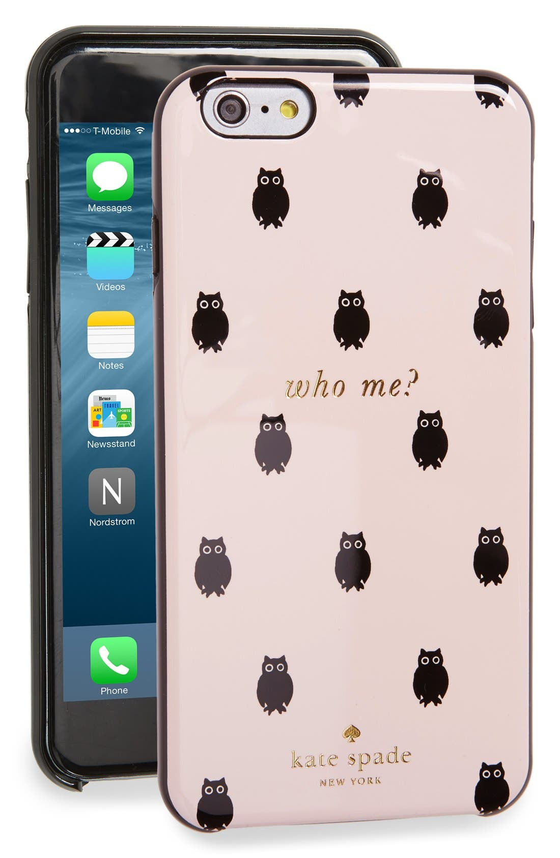 Alternate Image 1 Selected - kate spade new york 'who me?' iPhone 6 Plus & 6s Plus case (Nordstrom Exclusive)