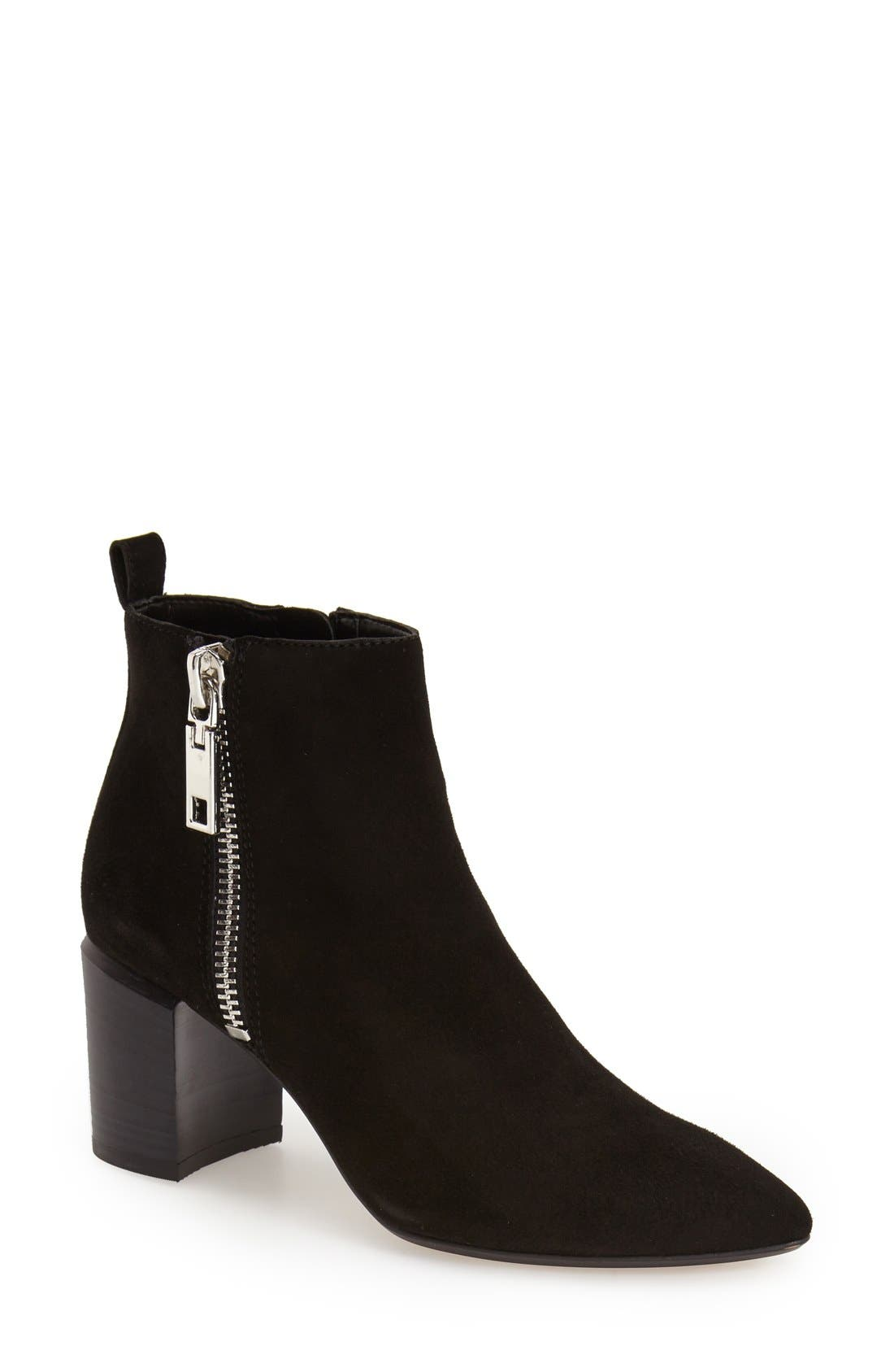 Alternate Image 1 Selected - Dolce Vita 'Ginnee' Pointy Toe Ankle Bootie (Women)