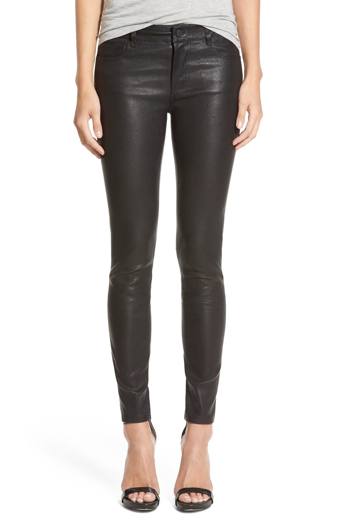 Alternate Image 1 Selected - Paige Denim 'Verdugo' Leather Pants