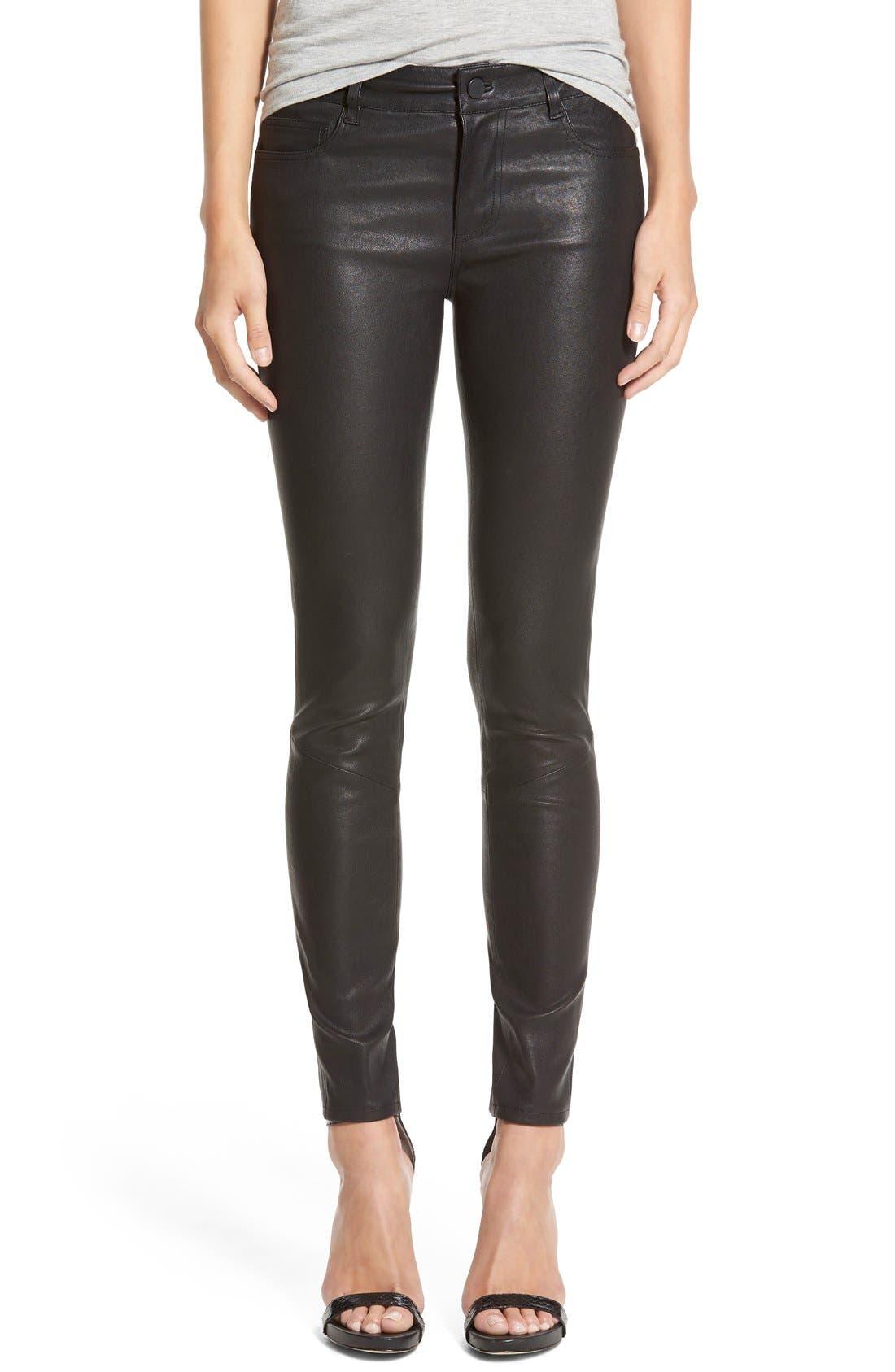 Main Image - Paige Denim 'Verdugo' Leather Pants