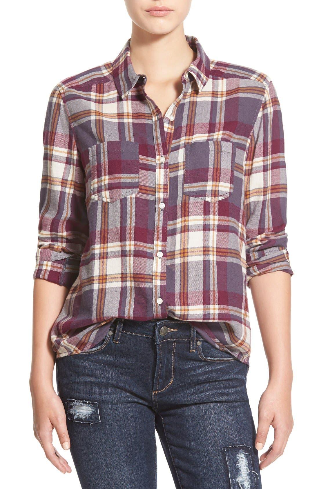 Main Image - BP. Plaid Flannel Shirt