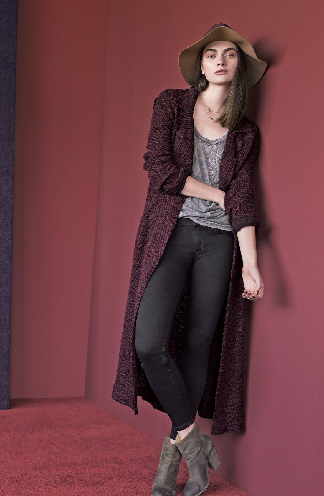 Alternate Image 5  - PAIGE Transcend - Verdugo Ultra Skinny Jeans (Black Shadow)