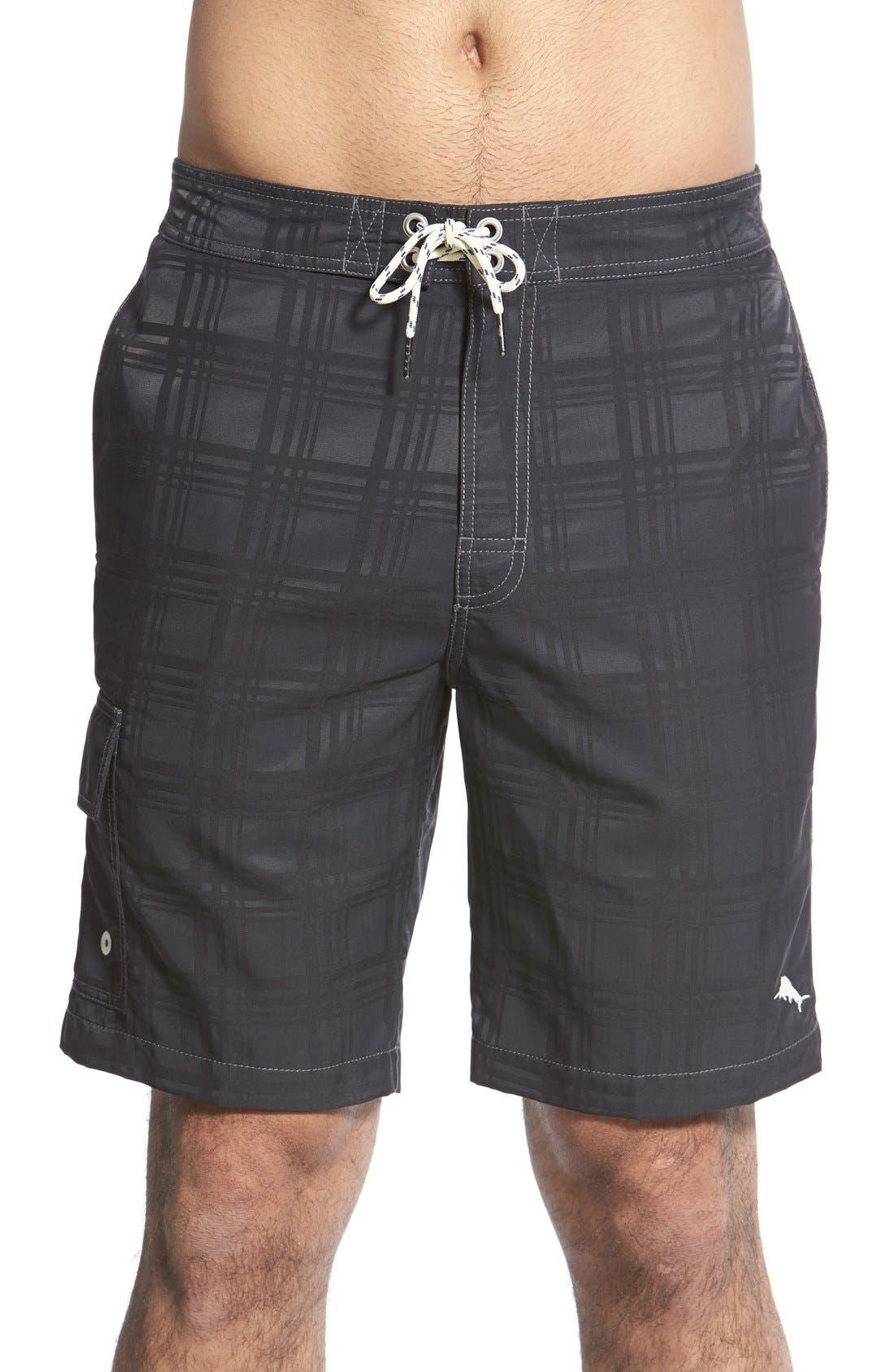 Tommy Bahama 'Baja Plaid' Board Shorts
