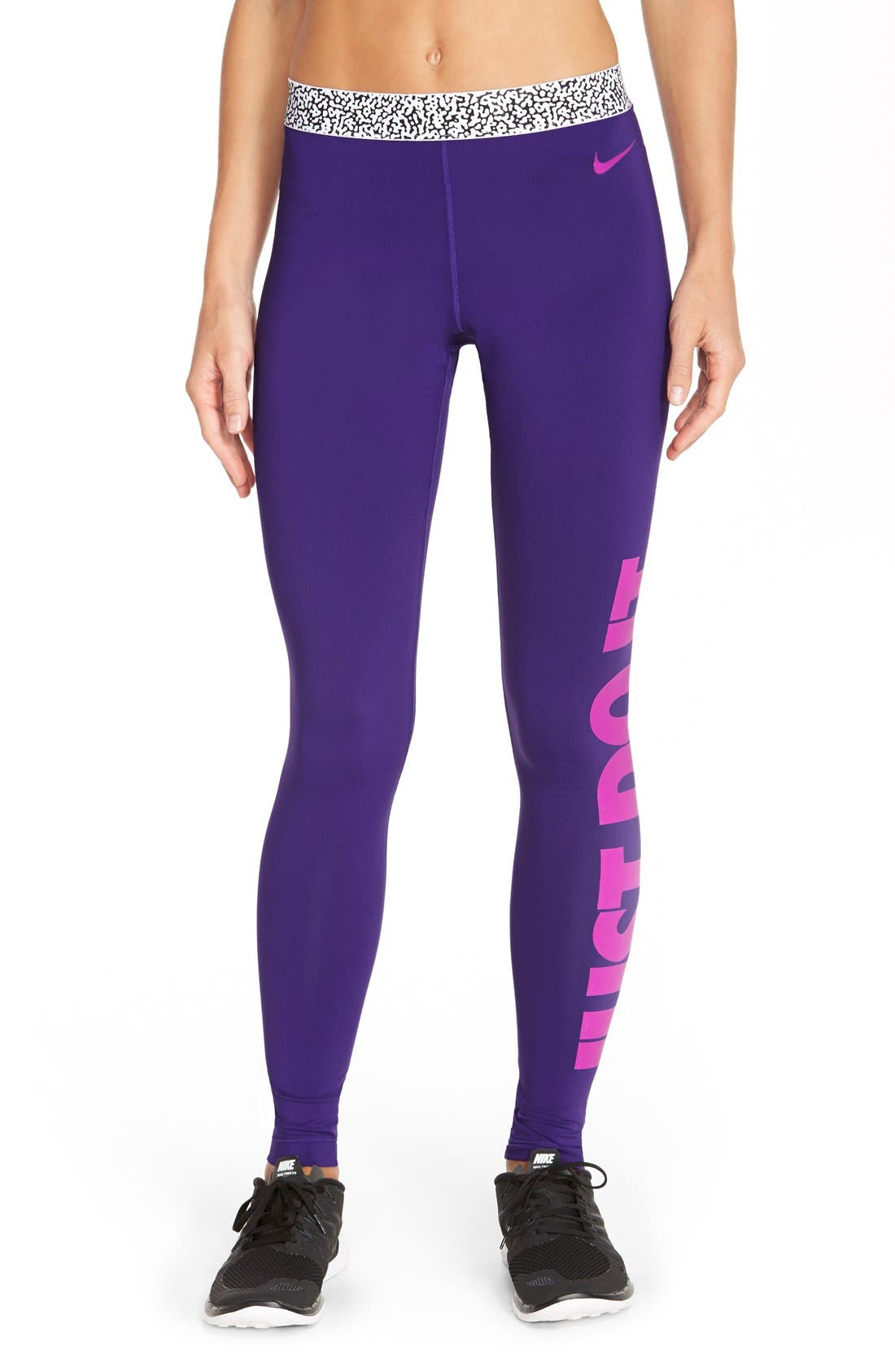 Alternate Image 1 Selected - Nike 'Pro Hyperwarm' Mezzo Compression Tights