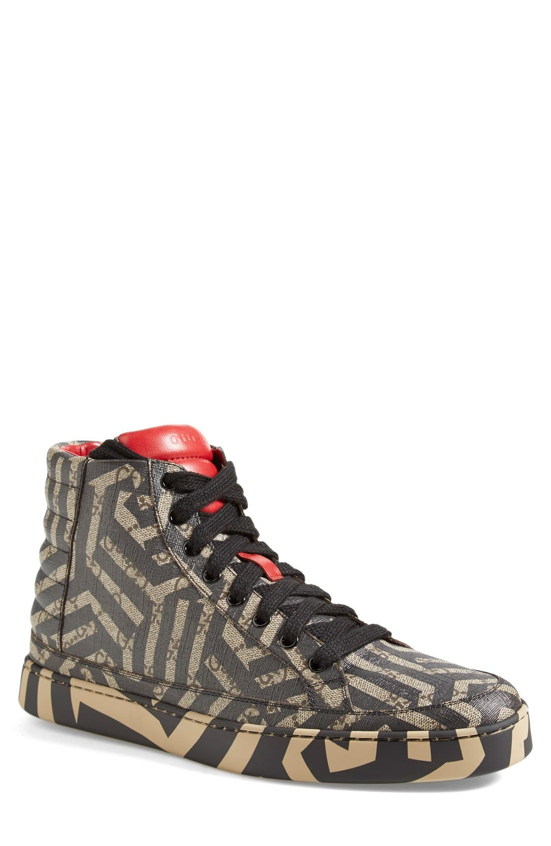Gucci Common High Top Sneaker (Men)
