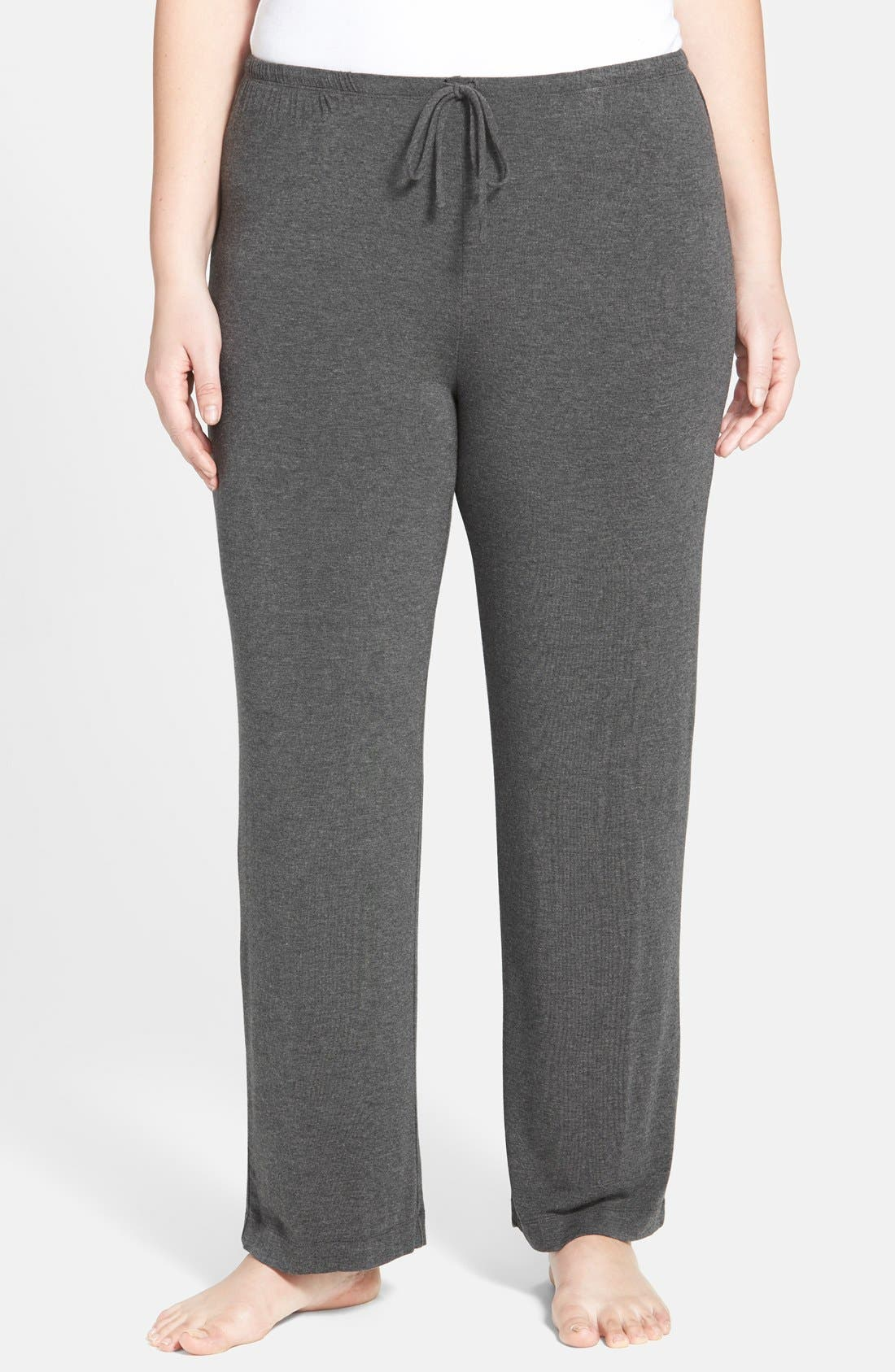 Alternate Image 1 Selected - DKNY 'Urban Essentials' Pants (Plus Size)