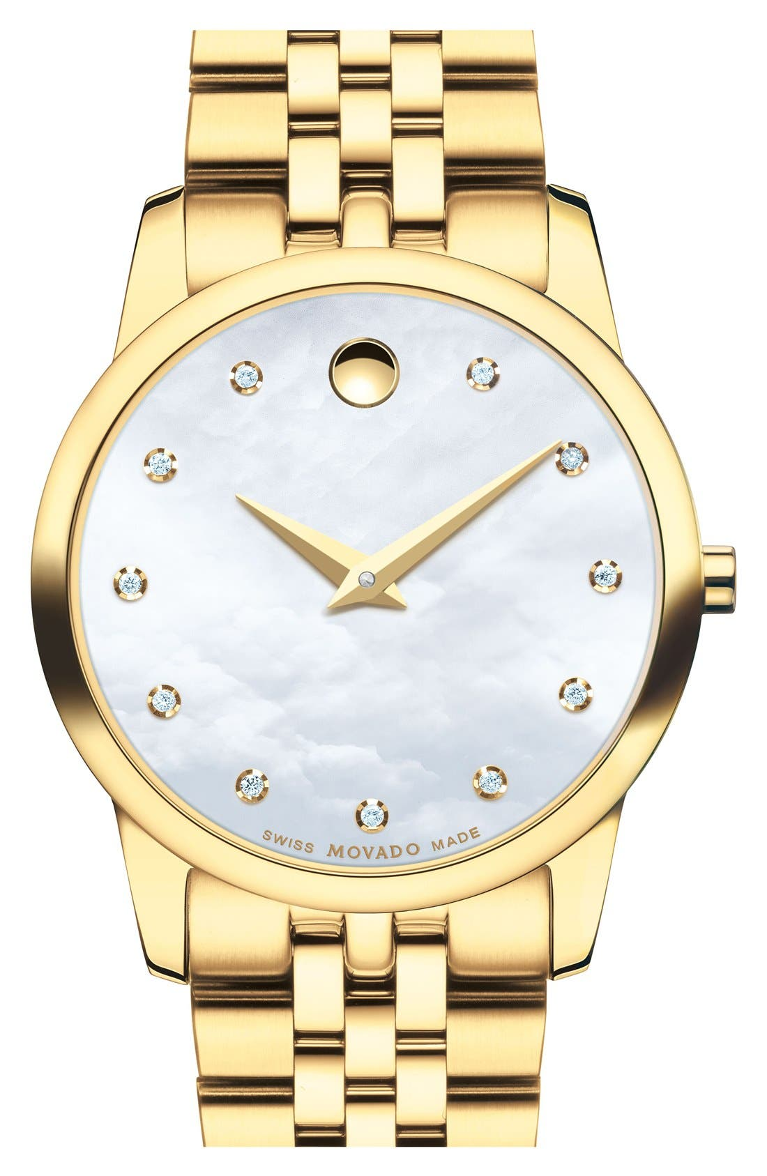 MOVADO 'Museum' Bracelet Watch, 28mm