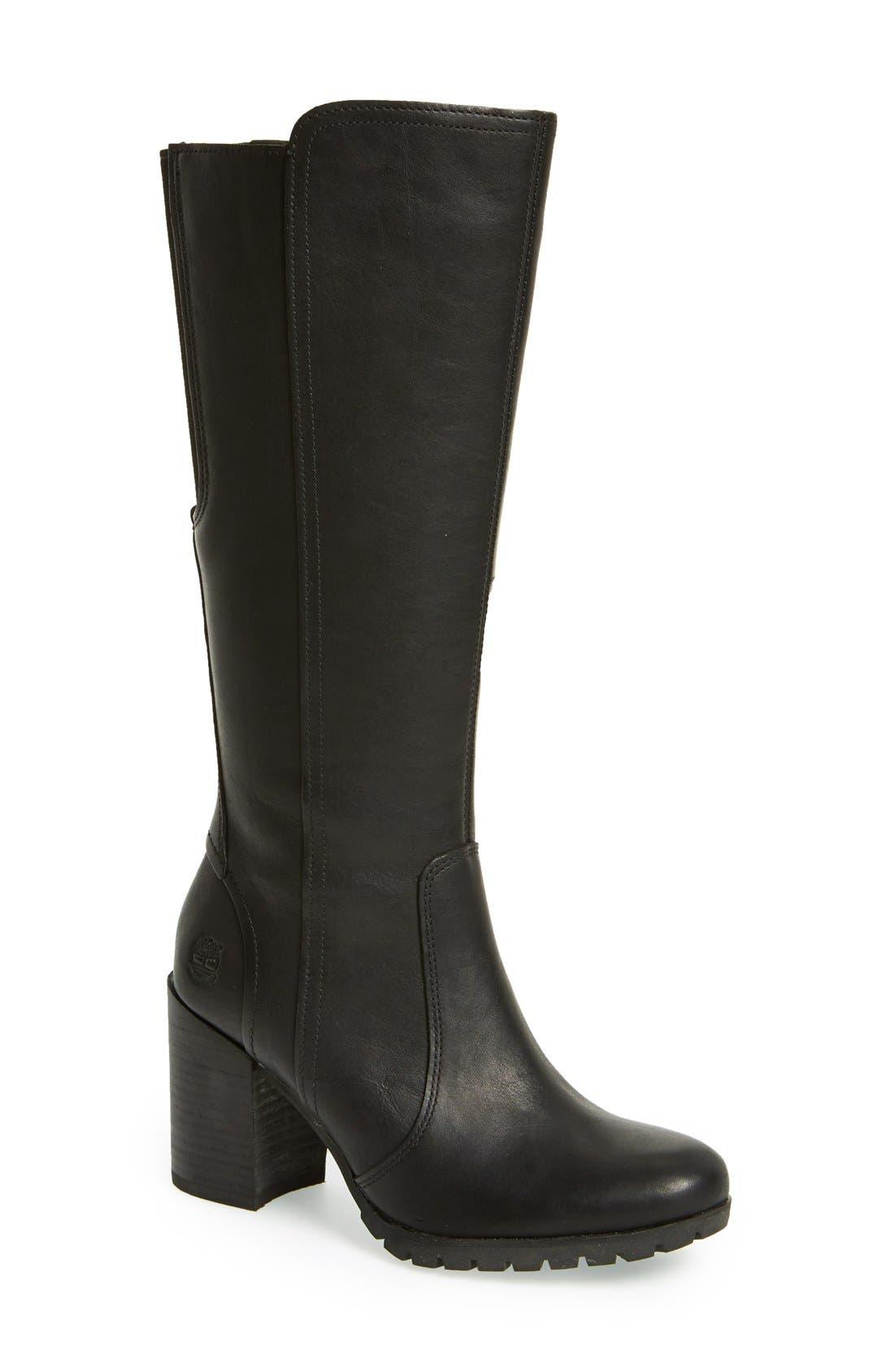 Main Image - Timberland 'Swazey' Tall Waterproof Boot (Women)