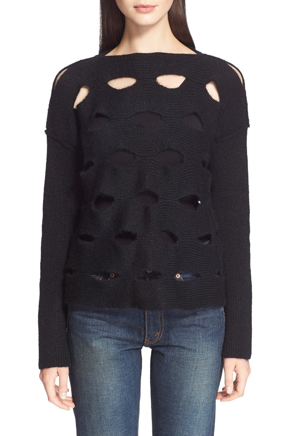 Alternate Image 1 Selected - Junya Watanabe Cutout Sweater