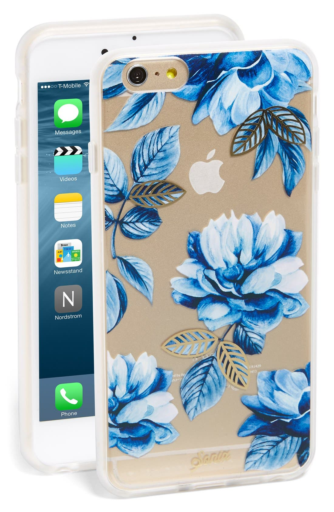 Alternate Image 1 Selected - Sonix Indigo Floral iPhone 6 Plus/6s Plus Case