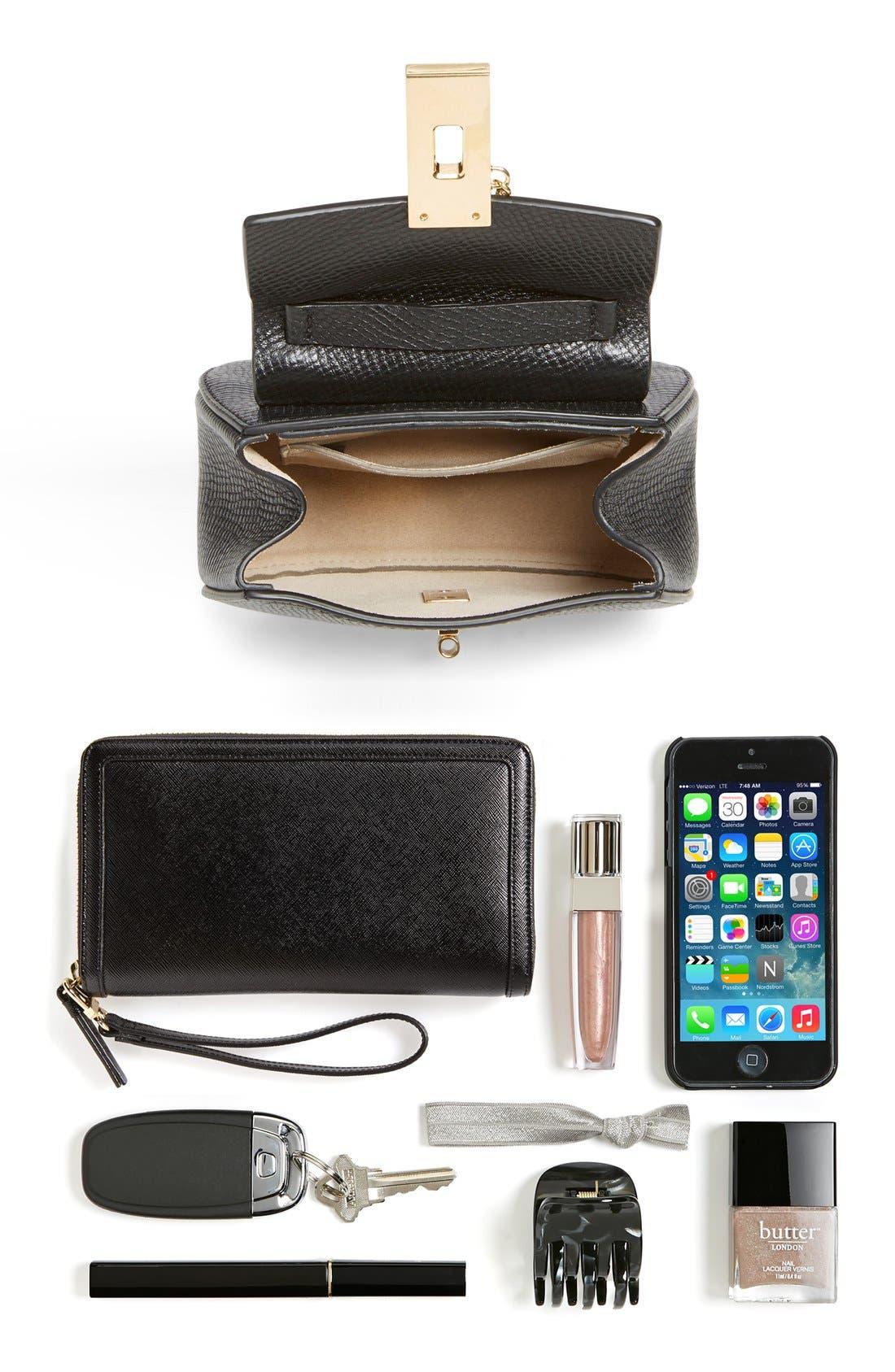 Alternate Image 6  - Chloé 'Nano Drew' Lambskin & Calfskin Leather Shoulder Bag
