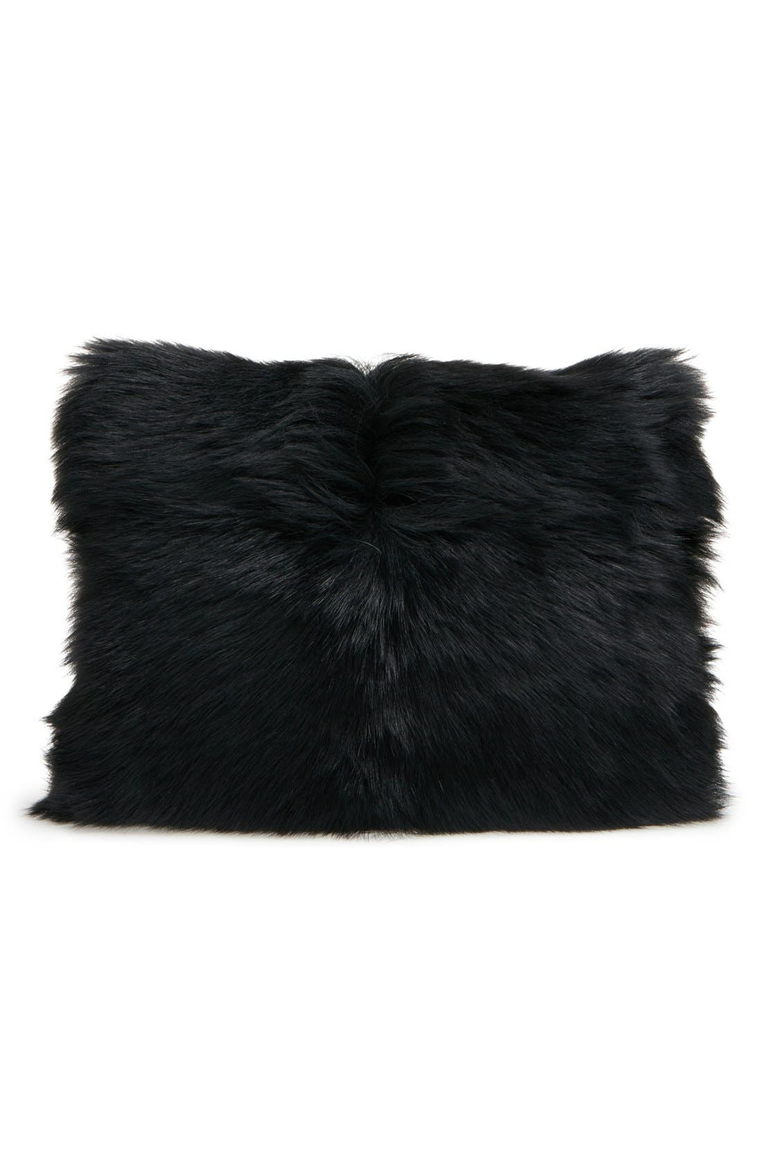Alternate Image 3  - MARC BY MARC JACOBS Shearling Square Clutch