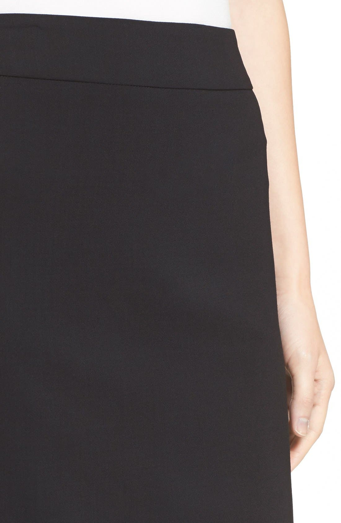 Alternate Image 6  - Armani Collezioni Featherweight Wool Pencil Skirt