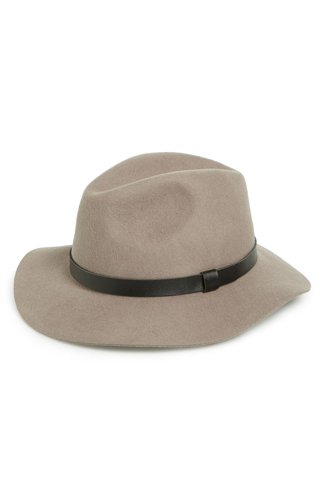 Alternate Image 1 Selected - Sole Society Wide Brim Fedora