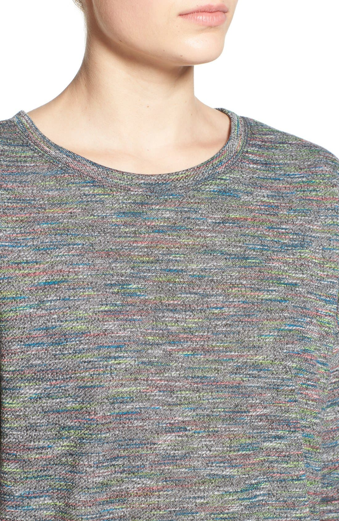 Alternate Image 5  - One Clothing Space Dye Sweater Dress