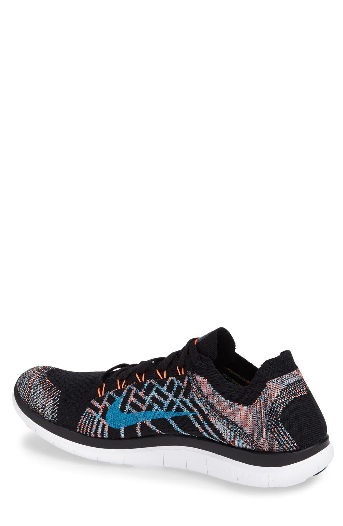 Alternate Image 2  - Nike 'Free Flyknit 4.0' Running Shoe (Men)
