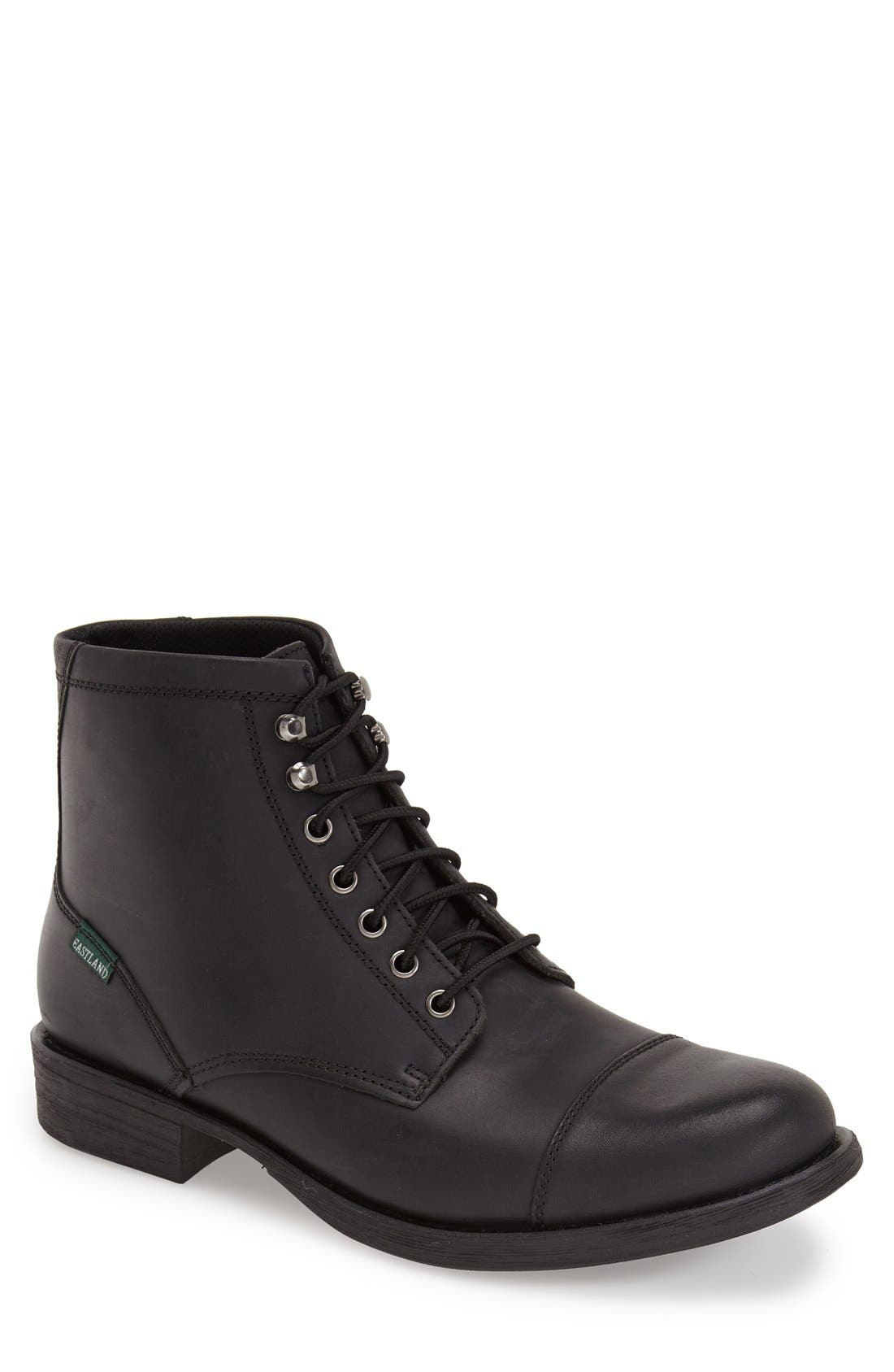 EASTLAND 'High Fidelity' Cap Toe Boot