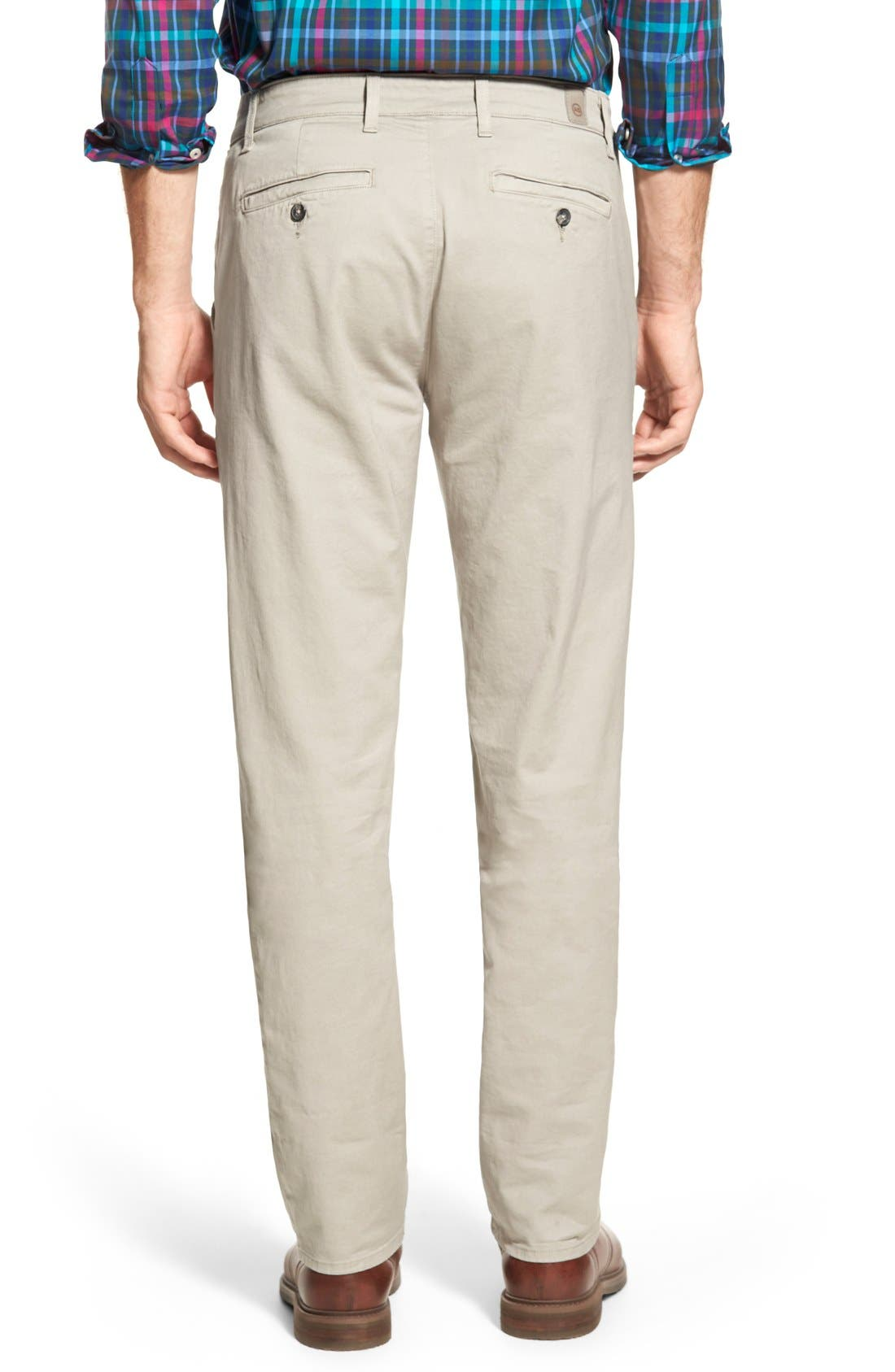 Alternate Image 2  - AG Slim Straight Leg Chinos