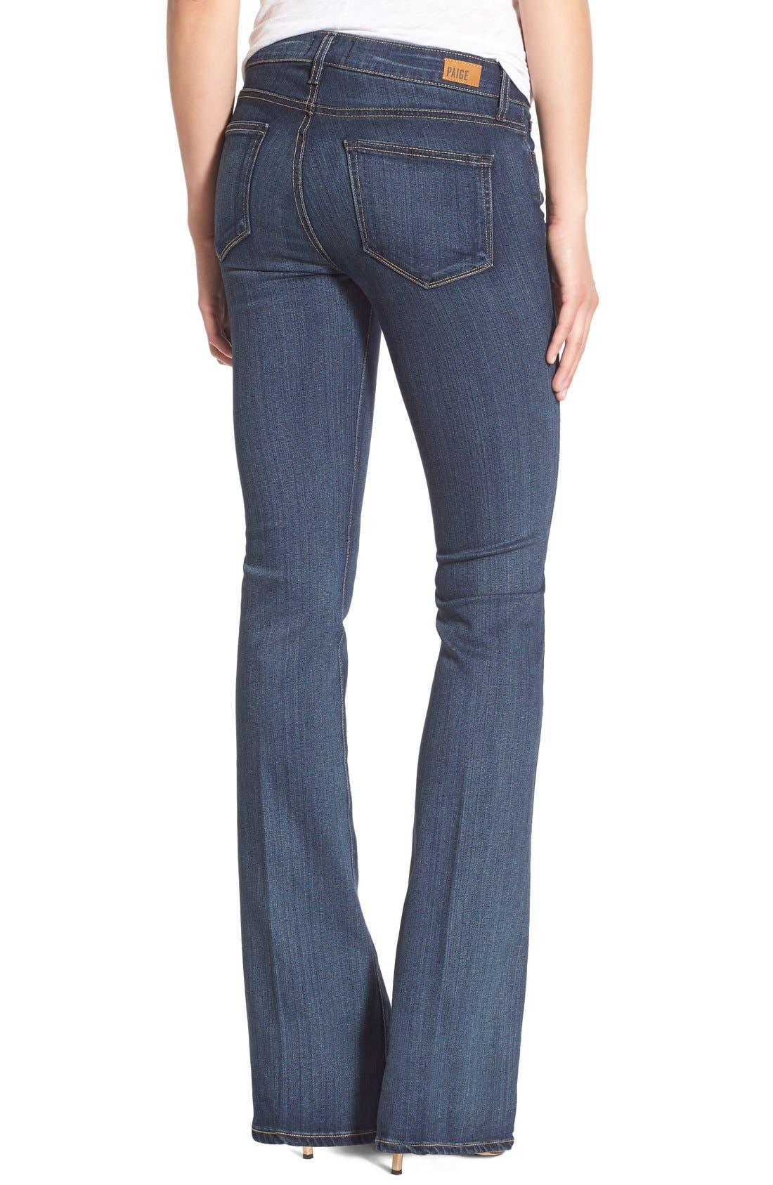 Alternate Image 2  - Paige Denim 'Transcend - Skyline' Bootcut Jeans (Vista)