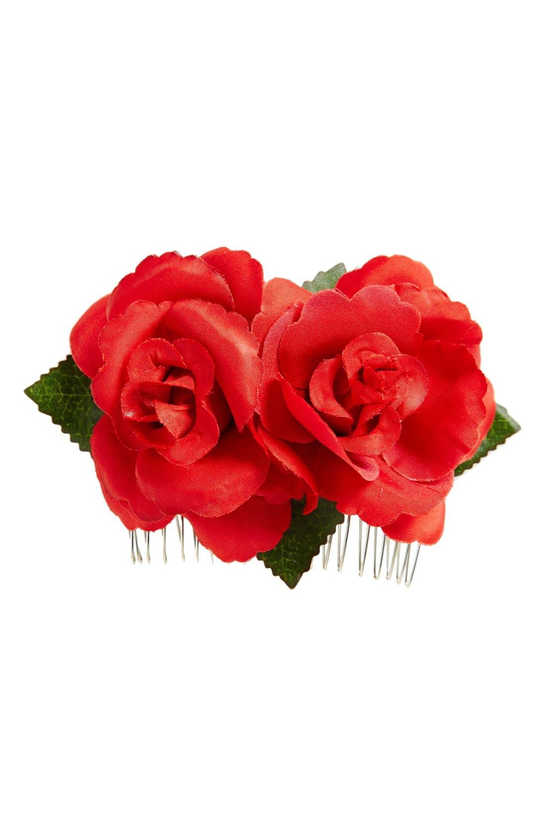 Alternate Image 1 Selected - Tasha Rose Embellished Hair Comb